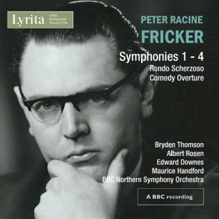 Fricker, Peter Racine: Orchestral Works - BBC Northern SO