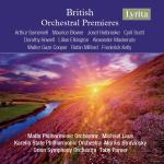 British Orchestral Premieres <span>-</span> Diverse artister
