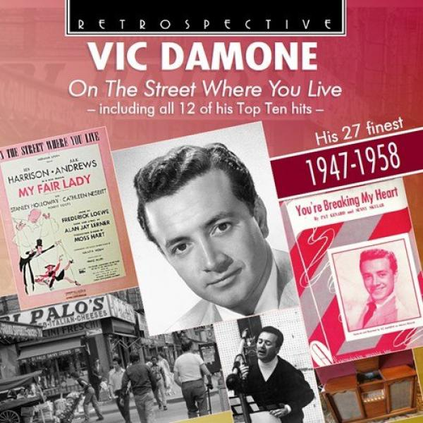 Vic Damone – On The Street Where You Live – His 27 Finest – 1947-1958 <span>-</span> Damone, Vic