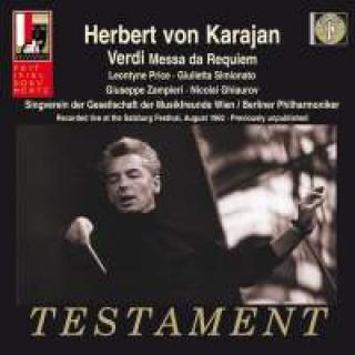 Verdi, Giuseppe: Requiem - Recorded Live At The Salzburg Festival, August 1962 - Karajan, Herbert von