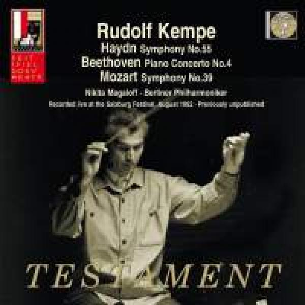 Rudolf Kempe Dirigerer Haydn, Beethoven And Mozart - Recorded Live At The Salzburg Festival, August 1962 <span>-</span> Kempe, Rudolf