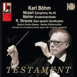 Karl Böhm Dirigerer Mozart, Mahler & Strauss - Recorded Live At The Salzburg Festival, August 1962 - Böhm, Karl