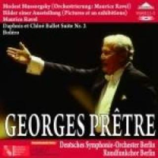 Georges Pretre Conducts Ravel & Mussorgsky - Pretre, Georges