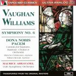 Williams, Ralph Vaughan: Symphony No. 6; Dona Nobis Pacem; <span>-</span> Utah Symphony Orchestra | Abravanel, Maurice