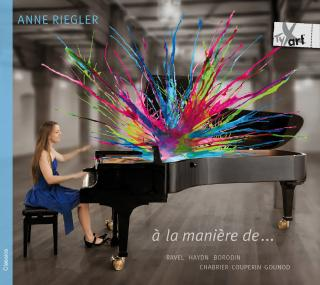 À la manière de… – Ravel portrays other composers - Riegler, Anne – piano