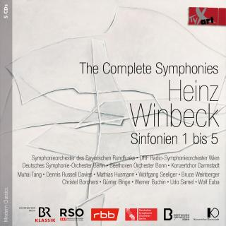 Winbeck, Heinz: The Complete Symphonies Nos. 1-5 - Various Artists