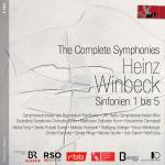 Winbeck, Heinz: The Complete Symphonies Nos. 1-5 <span>-</span> Various Artists