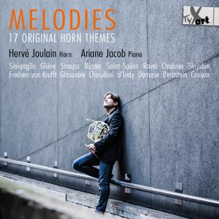 Melodies - 17 Original Horn Themes - Joulain, Herve (horn) / Jacob, Ariane (piano)