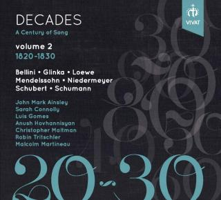 Decades: A Century of Song Vol. 2 1820 - 1830 - Martineau, Malcolm (piano) / Various Singers