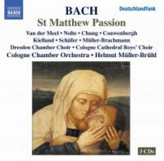 Bach, J S: St Matthew Passion, BWV244 - Dresden Chamber Choir/ Cologne Chamber Orchestra & Cologne Cathedral Boys' Choir/ Helmut Müller-Brühl