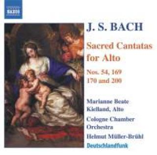 J S Bach - Sacred Cantatas for Alto - Cologne Bach Choir & Cologne Chamber Orchestra/ Helmut Müller-Brühl