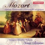 Mozart Concerto for two pianos & Sinfonia concertante <span>-</span> Det Norske kammerorkester / Brown, Iona