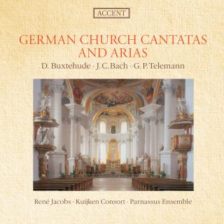 German Church Cantatas And Arias - JACOBS/KUIJKEN CONSORT/PARNASSUS ENSEMBLE