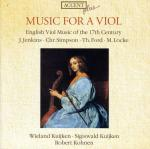 Music For A Viol-English Music For Viola Da Gambe - 17th Cent. <span>-</span> KUIJKEN,SIGISWALD & WIELAND/KOHNEN