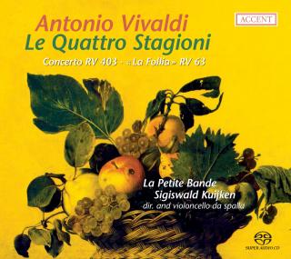 Vivaldi: The Four Seasons - La Petite Bande/Kuijken, Sigiswald (director)