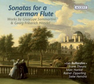 Sammartini/Handel: Sonatas For A German Flute - LES BUFFARDINS