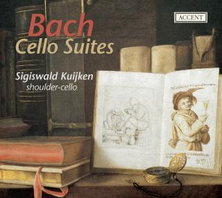 Bach: Cello Suites Nos. 1-6, Bwv1007-1012 - Kuijken, Sigiswald (shoulder cello)