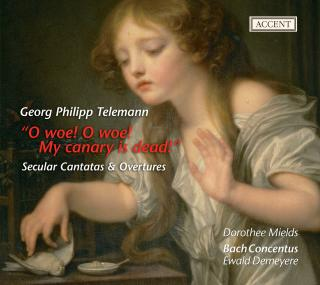 Telemann: Secular Cantatas Twv 20:37 & 20:49/Orchestral Suites Twv 55:C2,55:C5,55:B8 - MIELDS/DEMEYERE/BACH CONCENTUS