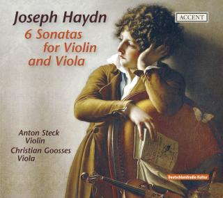Haydn: Duos For Violin And Viola - STECK/GOOSSES