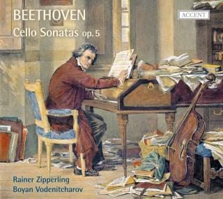 Beethoven: Cello Sonatas Op. 5, Variations Op. 66 & Woo 45 - Zipperling/Vodenitcharov