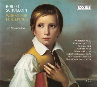 Schumann: Works For Fortepiano - Jan Vermeulen (fortepiano)