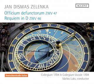 Zelenka: Officium Defunctorum & Requiem - Music For The Funeral Rites Of Augustus The Strong - Collegium Vocale 1704/Luks, Václav