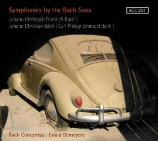 Symphonies By The Sons Of Bach - Demeyere/Bach Concentus