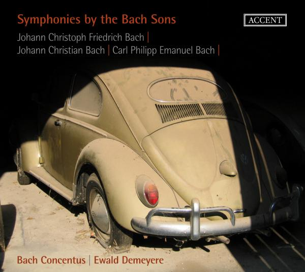 Symphonies By The Sons Of Bach <span>-</span> Demeyere/Bach Concentus