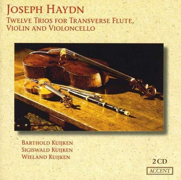 Haydn: 12 Trios For Flute, Violin And Cello - KUIJKEN,B.,S.,W.