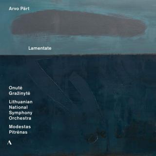 Arvo Pärt: Lamentate & Piano Works - Grazinyte, Onute (piano) / Lithuanian National Symphony Orchestra / Modestas Pitrenas / King, Edward (cello)