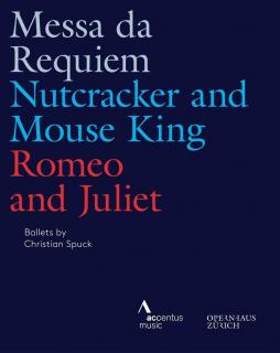 Ballets by Christian Spuck from the Opernhaus Zürich - Verdi: Requiem / Tchaikovski: Nutcracker & Mouse King / Prokofiev: Romeo & Juliet