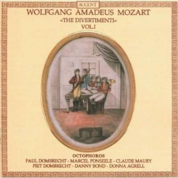 Mozart: Divertimenti For Oboe Vol.1 <span>-</span> OCTOPHOROS
