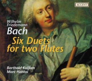 Bach, W.F.: 6 Duets For 2 Flutes - KUIJKEN,B./HANTAI,M.