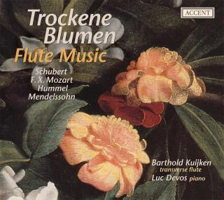 Trockne Blumen - Flute Music From The 19th Cent. - KUIJKEN,BARTHOLD/DEVOS,LUC