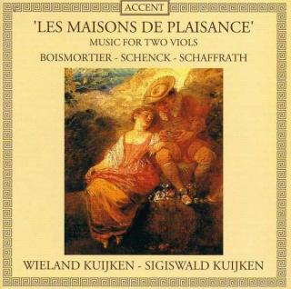 Les Maisons De Plaisance - Music For 2 Viols - KUIJKEN,W. & S.