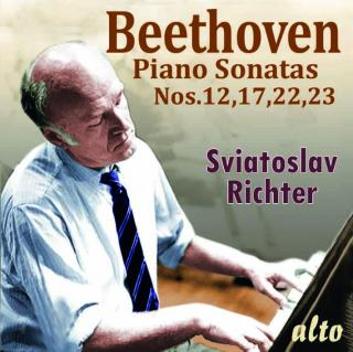Sviatoslav Richter plays 4 Beethoven Sonatas; Nos. 12, 17, 22 & 23
