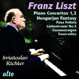 Richter plays Liszt - Richter, Sviatoslav – piano