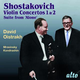 "Shostakovich, Dmitri: Violin Concertos Nos. 1 & 2; Suite from ""Alone"" - Oistrakh, David – violin"