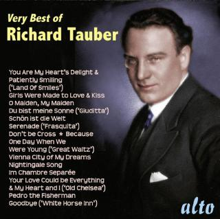 Very Best of Richard Tauber - Tauber, Richard