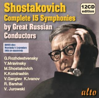 Shostakovich: Complete Symphonies - Legendary Russian Conductors - Various Orchestras / Various Russian Conductors