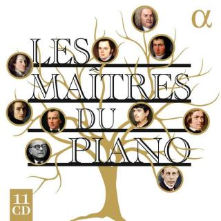 Les Maitres du Piano - Stern , Edna (piano) / Guy, François-Frédéric (piano) / Lonquich, Alexander (piano) / Goerner, Nelson (piano) / Le Sage, Eric (piano) / Vinnitskaya, Anna (piano)