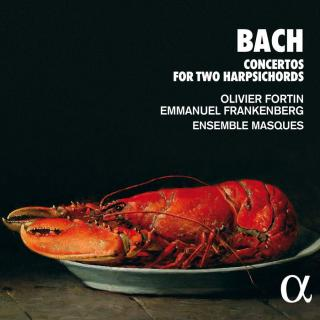 Bach: Concertos for Two Harpsichords - Fortin, Olivier / Frankenberg, Emmanuel / Ensemble Masques
