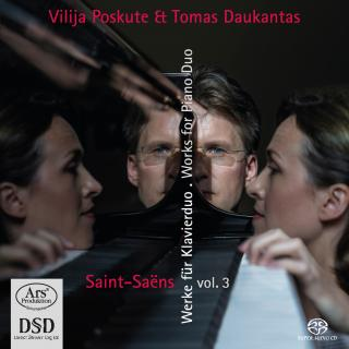 Saint-Saëns, Charles-Camille: Works for Piano Duo – Vol. 3 - Poskute, Vilija – piano | Daukantas, Tomas – piano