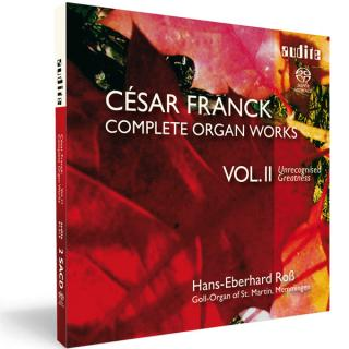 C. Franck: Complete Organ Works Vol. Ii -