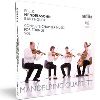 Felix Mendelssohn Bartholdy: String Quartets In E Flat Major (Op. 12), In A Minor (Op. 13) & In E Flat Major (1823) -
