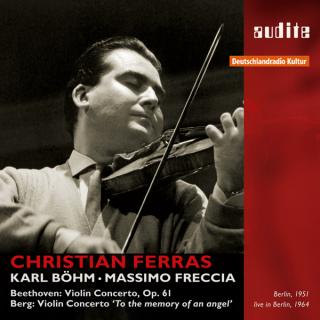 Christian Ferras Plays Beethoven And Berg Violin Concertos -