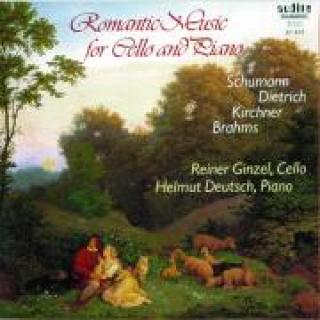 Romantic Music For Cello And Piano -