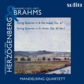 String Quartets By Brahms (Op. 67) & Herzogenberg (Op. 42, No.1) -