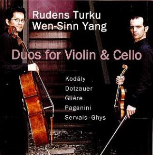 Duetter For Fiolin & Cello - Rudens Turku (violin) / Wen-Sinn Yang (cello)