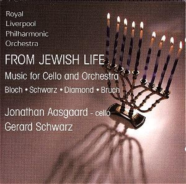 From Jewish Life - Musikk For Cello Og Orkester <span>-</span> Aasgaard, Jonathan (cello)